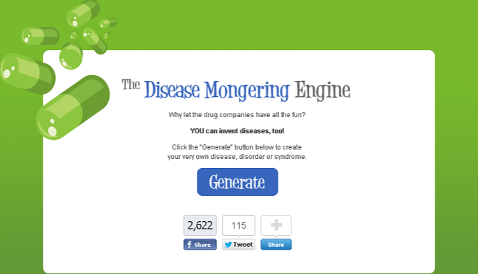 disease mongering engine