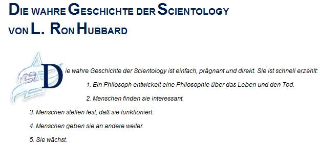 Die Wahre Geschichte der Scientology
