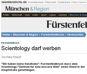 Scientology darf werben
