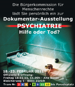 Psychiatrie Dokumentar-Ausstellung