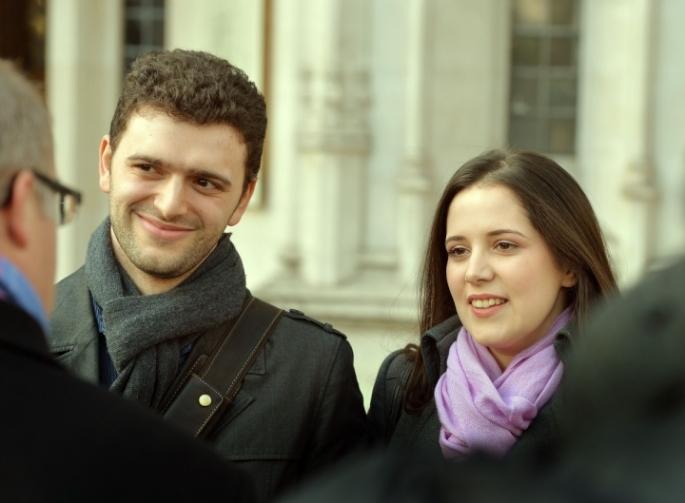 LouisaHodkin und Alesssandro Calcioli