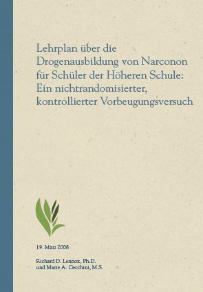 Narconon_Studie_Prävention